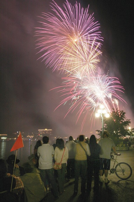 The pyrotechnic display unleashed in the Inner Harbour on July 1 will have some new features